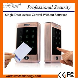 Wholesale Hot sale face waterproof M13A smart proximity mhz MF card reader door control swipe to open the door acces control system