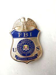 Replica police metal badge united States FBI special agent Insignia federal bureau investigation