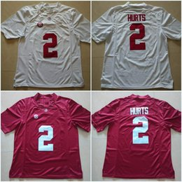 Wholesale Alabama Crimson Tide Jalen Hurts Ridley Bo Scarbrough Robinson College Football Limited Jerseys New Style Stitched Jersey