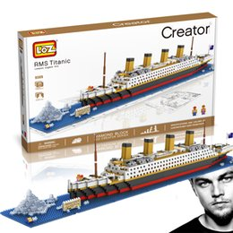 LoZ Mini Building Blocks - TITANIC Ship 22''L 1860pcs of nanoblock Toy Gift Puzzle No Box FREE Shipping