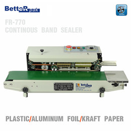 FR-770 Continuous film sealing machine,plastic bag package machine,band sealer,horizontal vertical heating sealing machine(220V 50Hz)