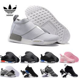 Wholesale Adidas Original NMD City Sock Men Women Shoe NMD CS1 City Sock PK Core Black Vintage White Ftwr White Casual Sports Shoes S79150 Footwear