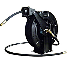 Wholesale 1 quot m Automatic hose reel suitable for transfer oil water air and every type of fliuds Garden hose reel
