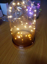 Wholesale Colors AA Battery M LED Silver Copper Wire LED String Fairy Lights Lamp With UK US EU AU Plug Adapter For Decoration