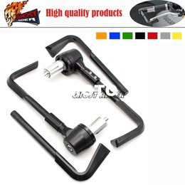 Wholesale Aluminum ABS Protector Handlebar quot mm Brake Clutch Levers Protect Guard For SUZUKI GSX R