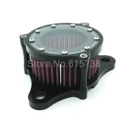 Wholesale Aluminum Motorcycle Air Cleaner Intake Filter System for Harley Sportster up XL