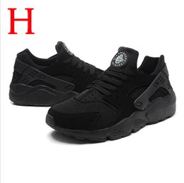 Wholesale 2016 Cheap Air Huarache Triple Black Red White PRM Breathable Premium Running Shoes Best Quality Air Huaraches Run Ultra BR hot sale