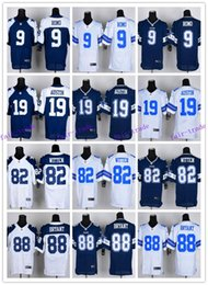Wholesale Soccer football jersey Cowboys rugby jerseys ROMO AUSTIN CLAIBORNE WITTEN BRYANT freeshipping