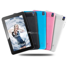 9 Inch Tablet Pc Capactive Screen Quad Core Allwinner A33 1.5Ghz Tablets Pc Android 4.4.2 512MB 8GB WIfi Tablets OTG Wifi Mid Flashlight DHL
