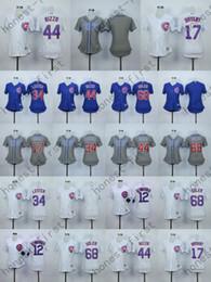 Wholesale 2016 Chicago Cubs Jersey Women Kris Bryant Jersey Jon Lester Jorge Soler Stitched Women s Shirt Anthony Rizzo Jerseys
