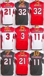 Wholesale NIK Elite Football Stitched Cardinals Palmer Larry Fitzgerald Peterson Tyrann Mathieu White Red Black Jerseys Mix Order