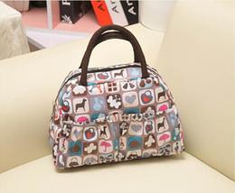 Wholesale Cute Dogs hearts Women lunch bag box waterproof Women Mini handbag purse