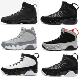 Wholesale 2016 air retro mans Basketball Shoes Cool Grey Black White Red Anthracite Barons The Spirit doernbecher release retro IX Sneakers