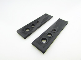 22mm NEW Men's Black HOLES Super ocean DIVER Silicone Rubber Watch Band Strap For Breitling Watch