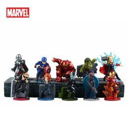 Wholesale 2016 Freeshipping Movie Avengers PVC Figurines Refrigerator fridge Freezer Magnets DIY Home Decoration Best Toy Gift Inch Mix styles