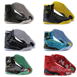 Wholesale 2016 KB Kobe IX Elite basketball shoes high Boots cushioning sneakers training All Star comfortable For online Cheap sale