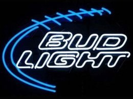 "BUD LIGHT GLASS NEON LIGHT BEER BAR PUB LIGHT SIGN 19""x15"""