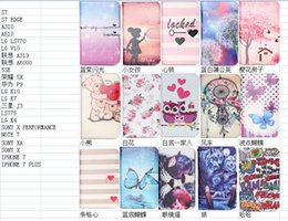 Wholesale Flip Cover Owl Star Sky Make Wallet Leather Dandelion Sexy Girl Flower Cat Stand Case For SONY Xperia X PERFORMANCE XA Galaxy Note7 Note