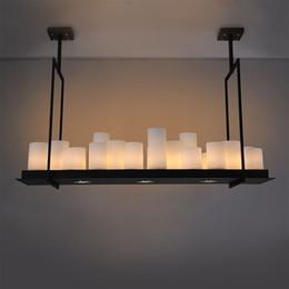 Kevin Reilly Altar pendentif lumières pour salle à manger Living Villa Black Loft industrielle bougie suspendu suspension Livraison gratuite à partir de lumière pendante kevin reilly fabricateur