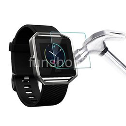 BG0109 Newest 3 in 1 SmartBand Screen Protector Premium Glass Film 0.2mm Real [Tempered Glass] Screen Protector for Fitbit Blaze