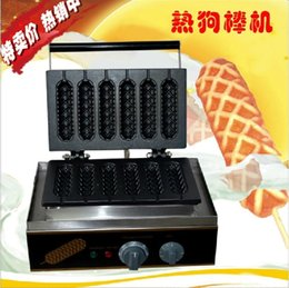Wholesale Electric Lolly Waffle Makers Hot dog stick for Commercial Use