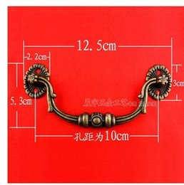 Wholesale B053 alloy antique wooden handle special handle parts of European cabinet handle drawer pull