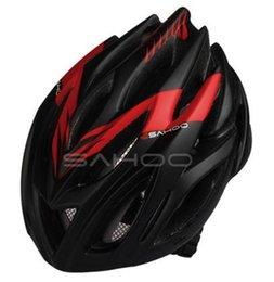 Wholesale icycle Accessories Bicycle Helmet SAHOO Cycling Bicycle Bike Helmet BMX Bicycle Hero Bike Adjust Helmet carbon With Channeled Ven