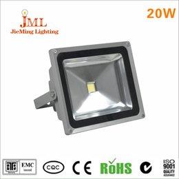 20W LED floodlight IP65 high lumen DC24V AC220V floodlight warm color temperature floodlight application square outdoor lighting