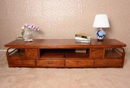 Wholesale Solid Rosewood TV Cabinet for Plasma LCD TVs African rosewood PterocarpuserinaceusPoir solid rosewood furniture