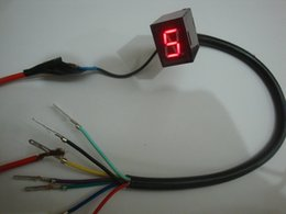 Wholesale Hot Sale Red Light LED Universal Digital Gear Indicator Motorcycle Display N