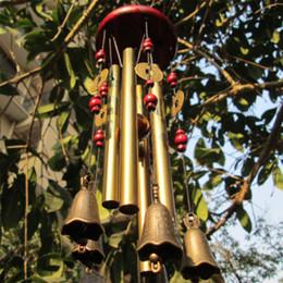 Wholesale Amazing Tubes Bells Copper Alloy Outdoor Living Wind Bells cm Yard Garden Decor