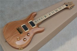 Wholesale Electric Guitar with Original Mahogany Body Flame Maple Neck Abalone Bird Fret Marks Inlay can be Customized