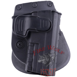 Wholesale 2016 NEW Hunting Right Hand Belt Loop Paddle SWCH Rapid Release System Belt Holster Fits Tactical Gun