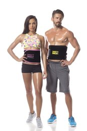 Wholesale Sweet Sweat Premium Waist Trimmer Men Women Belt Slimmer Exercise Ab Waist Wrap with color retail box