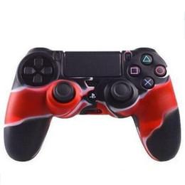 Housse de protection en silicone pour PlayStation Dualshock 4 PS4 PS3 Housse de camouflage pour Xbox ONE 360 Gamepad Controller à partir de contrôleur ps4 couvercle du boîtier fournisseurs