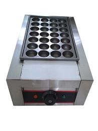 Wholesale 40MM Diameter Electric V Takoyaki Machine Meat ball maker