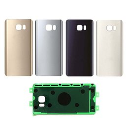 For Samsung Galaxy Note 5 N920 Glass Back Cover Housing Battery Door Plate Gold Blue Silver White