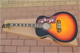 Wholesale New best Musical Instruments custom Acoustic Guitar in stock One neck No Scarf