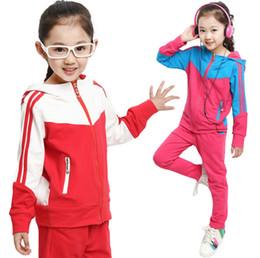 2016 Spring models big virgin men and women spell color uniforms garden clothes children suit spell color uniforms burst models