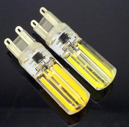 G9 G4 nouveau conduit 5w blanc chaud / blanc ampoules LED COB dimmable nouvelle brillante conduit 100PCS +++ à partir de g4 blanc bulbe fabricateur