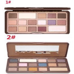 Wholesale high quality colors CHOCOLATE BAR platette EyeShadow makeup eye shadow palette cosmetics wholesalers beauty products