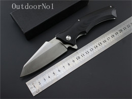 Wholesale Medford Snake G10 folding knife Imitate Medford knife Use cr steel Hardness HRC ball bearing handle pocket fruit knife EDC outdoor tool