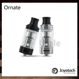 Wholesale Joyetech Ornate Atomizer with Stylings of Neo Georgian Architecture ml Tank Considerable Airflow Inlet MGS Triple Head ohm Original