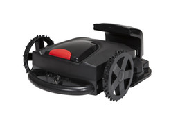 Wholesale By EMS Newest Auto Cuting Grass Robot Lawn Mover With LED display Sale by Factory