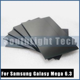 Wholesale Original New Quality LCD Polarizer Film For Samsung Galaxy Mega 6.3 i9200 i9205 i527 LCD polarizing Polarized Polarizing Ligh film