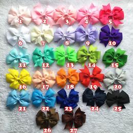 Dog headdress bow ribbon Pet bow hairpin pet accessories dog grooming 50pcs