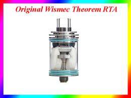 Wholesale Wismec Theorem RTA Atomizer Authentic Equipped NotchCoil with Cotton and Airflow Control Rings Tank VS Toptank mini Toptank Nano