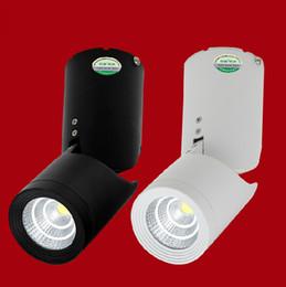 Wholesale Retail 10W 15W Dimmable COB LED Track Light Spotlight LED Tracking LED AC110 240V New Arrival