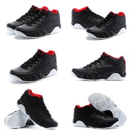 (With shoes Box) 2015 NEW Retro 9 VI LOW Black Red White Hot Sale Men Shoes Free Shipping