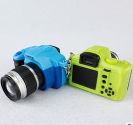 2017 anillo de luz led de la cámara 2015 Llavero Linterna de moda SLR botón de la tecla de la cámara LED emitiendo el sonido de la creatividad linterna anillo plano presupuesto anillo de luz led de la cámara